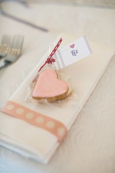 #cookies, #heart  Photography: Adene Photography - adenephotography.co.za Floral Design, Decor + Coordination: Special Events - eventsplanner.co.za  Read More: http://www.stylemepretty.com/2013/02/06/south-africa-wedding-from-adene-photography/