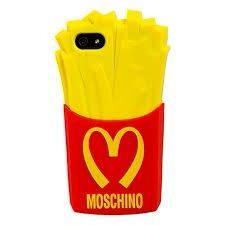 Moschino McDonalds French Fries Case for iPhone 6 Cheap Cell Phone Cases, Iphone 5 Cases, Cute Phone Cases, Iphone 6 Plus Case, Iphone 4s, Apple Iphone, Mcdonalds, Moschino Phone Case, Best Cell Phone Deals