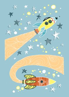 Space! Illustration by Eilidh Muldoon