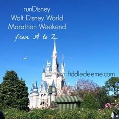 From a-z, what you need to know for runDisney Walt Disney World Marathon Weekend, presented by Cigna.