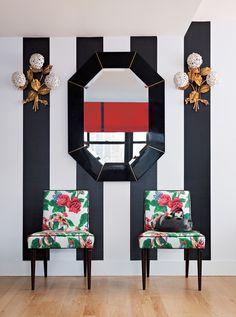 stripes + florals! // Barrie Benson