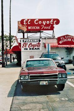 El Coyote in Los Angeles, CA on Beverly Greatest margarita's in town!!!
