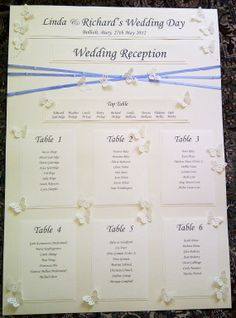 Elegant A1 Crossed Over Seating Chart / Table Plan on Etsy, $88.59 AUD
