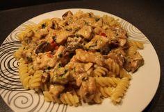 Chilis - bazsalikomos csirke Ethnic Recipes, Food, Essen, Meals, Yemek, Eten