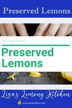 Great for Mediterranean, Middle Eastern cuisine, North African cuisine. Thinly sliced preserved lemons are great for Asian steam fish. Fun Cooking, Cooking Ideas, Cooking Recipes, Citrus Recipes, Asian Recipes, Fruit And Vegetable Storage, Ottolenghi Recipes, Preserved Lemons, Eastern Cuisine