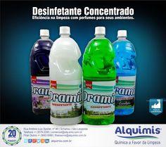 Alquimis Química Industrial: Desinfetante Concentrado Alquimis