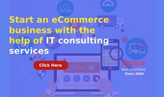 Get the help of IT CONSULTING SERVICES of SynapseWebSolutions to start your own ECOMMERCE BUSINESS.  Get guaranteed online sales and higher company's profit. High Company, Competitor Analysis, Online Sales, Ecommerce, The Help, Digital, Business, Inspiration, Biblical Inspiration