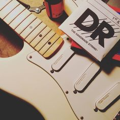 I missed taking care of my #guitars  #fender #stratocaster #drstrings #electricguitar #music