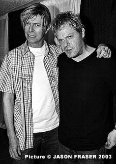 Eddie, you look a wreck, David looks fearful.