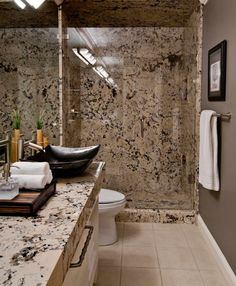 Merveilleux Granite Slab Showers And Bathroom Walls Design Ideas, Pictures, Remodel And  Decor No Grout Lines And Shower Ceiling Has Slab Too!