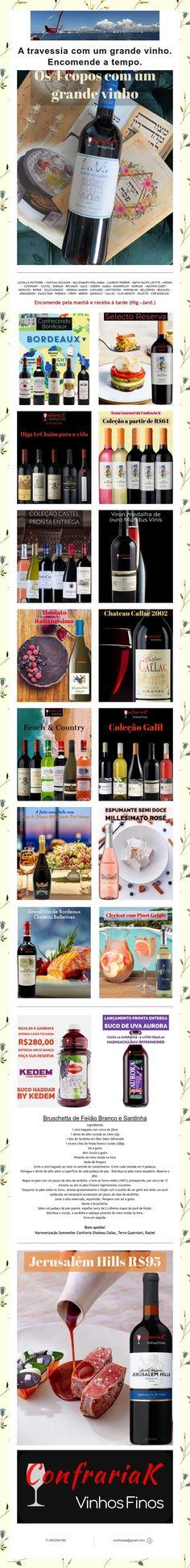 A travessia com um grande vinho. Encomende a tempo. Mouton Cadet, Laurent Perrier, Grande, Wine Pairings, Weather