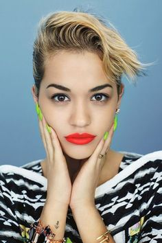 Rita Ora, reminds me of my summer hair!