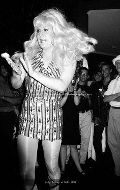 New York Nightlife documentarian John Simone photographed Nightlife legends like Lady Bunny Joey Arias, Michael Alig, Leigh Bowery, Amanda Lepore, Bunny Images, Photography Sites, Princess Cruises, Club Kids, Rupaul
