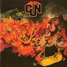 Gun - Gun album cover Roger Dean
