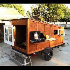 Teardrop camper or Micro Cabin camper