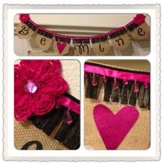 BE MINE banner by Thebannergirls on Etsy, $35.00