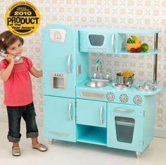 KidKraft 53227 Blue Vintage Kitchen