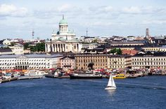 Helsinki is Finland's largest and capital city with a population of at least people. It is considered Finland's cultural center. The Helsinki-Vantaa… Places Around The World, The Places Youll Go, Places To Visit, Around The Worlds, Cities In Finland, Win A Trip, Capital City, Wonderful Places, Wonders Of The World