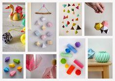 DIY's on folded geometrics - TheFunkyFox