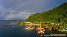 After 5 days in Tautira - the crews of Hōkūleʻa and Hikianalia departed on the final historic leg of the Worldwide Voyage: sailing home to Hawaiʻi. Open Your Eyes, Its A Wonderful Life, French Polynesia, Tahiti, Movies Showing, Nature Photos, Documentaries, Islands, Sailing
