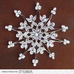 QILLING- niepowtarzalna technika- śnieżynki :) -… na Stylowi.pl