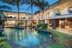 Impressive Hawaii Beachfront Mansion Asks $25M
