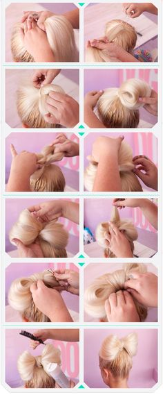 The Bow Bun.