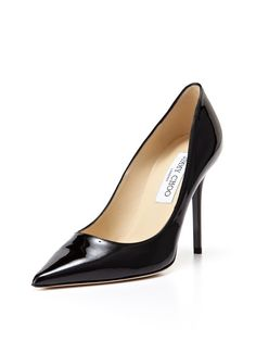 """Jimmy Choo """"Abel"""" Black Patent Leather  Pump - the ultimate classic!"""