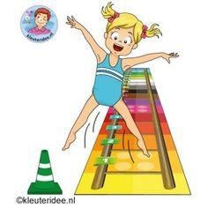 Gymles met laddermat voor kleuters 7 kleuteridee kindergarten preschool agility training sport