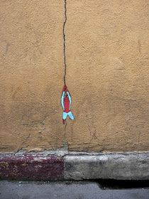 StreetArt101 : 5 incredible funny street art works by french artist OakOak