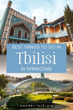 A complete guide to visiting Tbilisi, Georgia in spring – including what to do, what to eat, what to pack, and more. Europe Travel Guide, Asia Travel, Travel Guides, Travel Destinations, Amazing Destinations, Best Places To Travel, Cool Places To Visit, Road Trip, European Travel