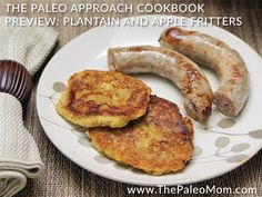 These fritters taste like little apple pie pancakes. They are tasty warm or chilled and are great combined with pork sausage or bacon (or both!).