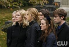 """""""O Brother, Where Bart Thou?"""" Pictured: Caroline Lagerfelt as Cece, Kelly Rutherford as Lily, Blake Lively as Serena, John Patrick Amedori as Aaron, Leighton Meester as Blair, Chace Crawford as Nate"""