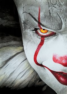 PENNYWISE, Bill Skarsgard, IT by Mim78.deviantart.com on @DeviantArt