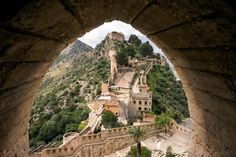 The Castle of Xàtiva. Read all about it on our Valencia