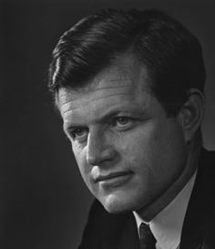 Edward Kennedy, 1968 © Yousuf Karsh