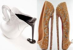 Dandy World: the strangest high-heeled shoes in the world Never before seen