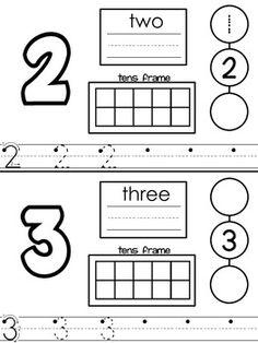 transitional kindergarten | Numbers for Transitional Kindergarten - Mrs. Baldridge ...