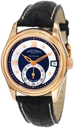 Armand Nicolet Women's 7155A-NN-P915NR8 M03 Classic « Holiday Adds