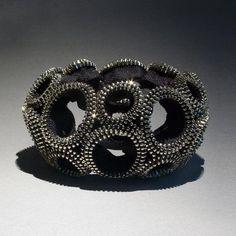 """Zipper Bracelet Jewelry """"Figure Eight"""""""