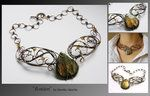 Avalon- wire wrapped necklace by ~mea00 on deviantART