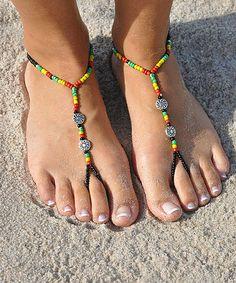 Rasta Barefoot Sandal #zulily #zulilyfinds