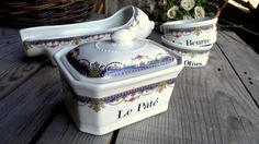 French Vintage Apilco Aperitive Set  by MyFrenchBricABrac on Etsy