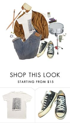 """""""the kid from calculus"""" by sadmothgirl ❤ liked on Polyvore featuring Converse, men's fashion and menswear"""