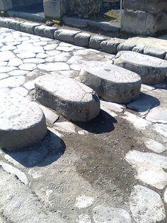 ¿Pasos de peatones en la Antigua Roma?