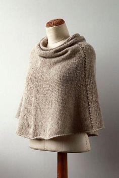 Resultado de imagen para poncho knitting pattern