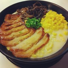Japanese Pork Ramen = Yum!! Japanese Ramen, Ramen Noodles, Pork, Yummy Food, Foods, Meat, Ethnic Recipes, Kale Stir Fry, Food Food