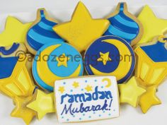 RAMADAN Cookie Collection Ramadan Activities, Ramadan Crafts, Eid Decorations, Food Decoration, Cute Cookies, Sugar Cookies, Ramadan Sweets, Eid Ideas, Eid Food