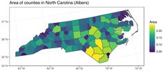 Tidy spatial data in R: using dplyr, tidyr, and ggplot2 with sf
