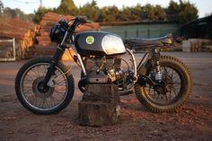 BMW R45 Street Tracker by El Solitario Motorcycles #streettracker #motos | caferacerpasion.com